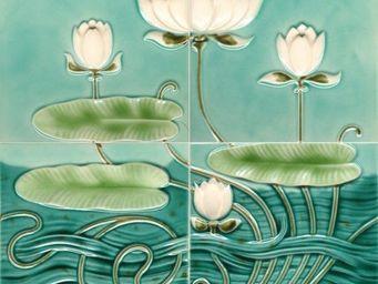 Replicata - motiv seerosenteich - Carrelage Mural