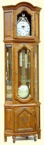 Horlogis - horloge vitrine régence - Horloge Comtoise
