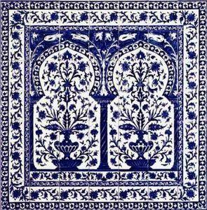 Diffusion Ceramique - kinz bleu - Panneau Céramique