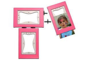 KERPIX - lot de 3 cadres rose - Cadre Photo Enfant
