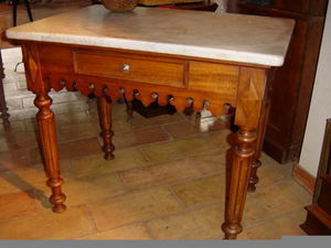 Alain Billard -  - Table De Boucher