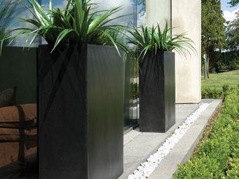 DEROMA France - muret haut composite carbone 60x24xh74cm - Pot De Jardin