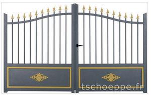 TSCHOEPPE - elegance premium - Portail De Jardin