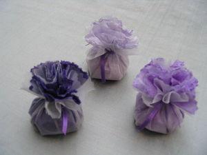 NAMASTÉ - fleurs blanches - Sachet Parfumé