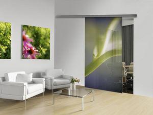 Mantion - ambiance floralis - Porte Coulissante