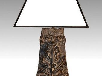 A L'INUTILE... - colonne acanthe pm nouvelle tendance - Lampe De Chevet