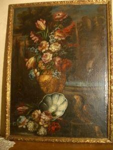 Antiquit�s Anne & Thierry - tableau - Nature Morte