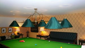 Billiard Room Antiques -  - Lampe De Billard