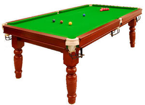 Thurston - major snooker table - Billard Am�ricain