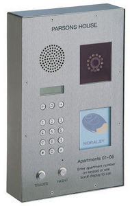 Nacd - tvtel 120d surface mounted panel + video + proximi - Interphone