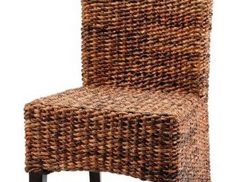MEUBLES ZAGO - chaise cuzco abaca - lot de 2 - Chaise
