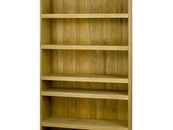 MEUBLES ZAGO - bibliothèque chêne (tiroirs en option) côme - Bibliothèque Ouverte