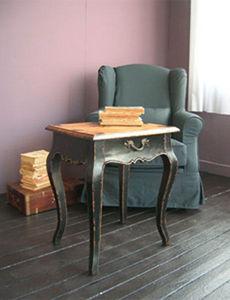 BLEU PROVENCE - vintage pink - Table Basse Forme Originale