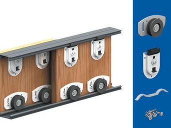 Wimove - kit garniture pour 2 portes ares 2 - Motorisation Pour Porte D'intérieur