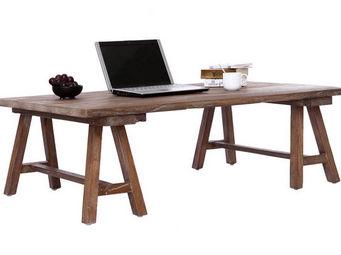 Miliboo - antiqua table basse - Table Basse Forme Originale