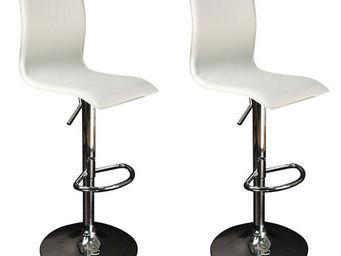 Miliboo - surf alto x2 - Chaise Haute De Bar