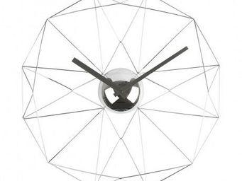 Karlsson Clocks - karlsson - horloge diamant web - karlsson - gris - Horloge Murale