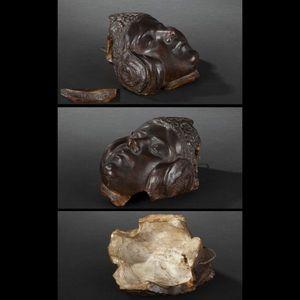 Expertissim - pierre-félix fix-masseau. tête de jeune fille en t - Sculpture