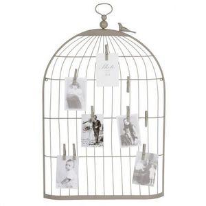Maisons du monde - cage oiseau p�le-m�le - P�le M�le
