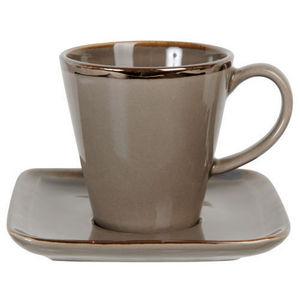 Maisons du monde - tasses et soucoupes café allure - Tasse À Café