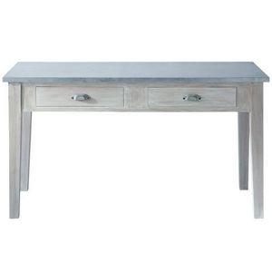 Maisons du monde - table � d�ner zinc - Table De Repas Rectangulaire