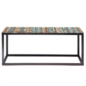 Maisons du monde - table basse bahia - Table Basse Rectangulaire