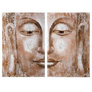Maisons du monde - dyptique buddha halong - Tableau Décoratif