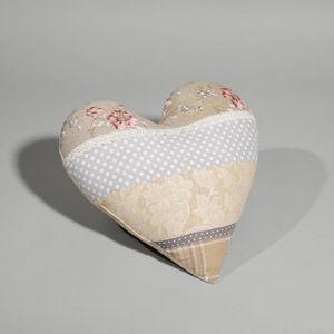 Maisons du monde - coussin belladona coeur - Coussin Forme Originale