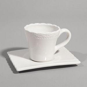 Maisons du monde - tasse à café romance beige - Tasse À Café
