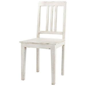 Maisons du monde - chaise blanche avignon - Chaise