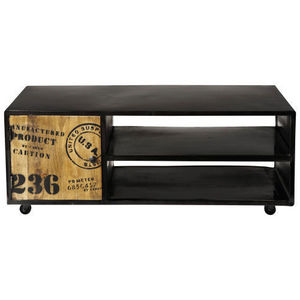 MAISONS DU MONDE - meuble tv manufacture - Meuble Tv Hi Fi