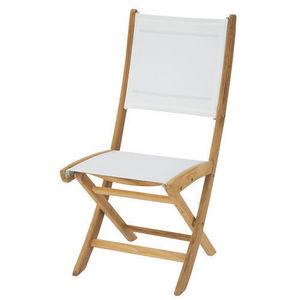 Maisons du monde - chaise blanche capri - Chaise De Jardin