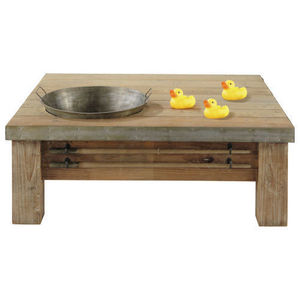 Maisons du monde - table basse saturnin - Table Basse Rectangulaire