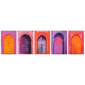 Maisons du monde - kit 5 toiles casablanca - Tableau Décoratif
