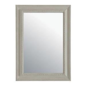 Maisons du monde - miroir l�onore beige 82x113 - Miroir