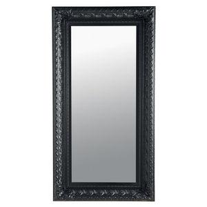 MAISONS DU MONDE - miroir marquise noir 95x180 - Miroir