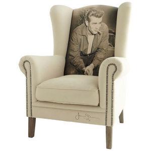 Maisons du monde - fauteuil james dean celebrity - Fauteuil