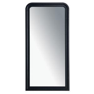 Maisons du monde - miroir louis noir 80x160 - Miroir