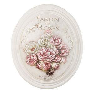 Maisons du monde - médaillon jardin de roses - Tableau Décoratif