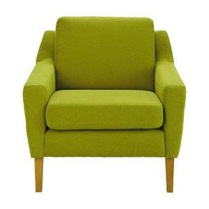 Maisons du monde - fauteuil linara vert mad men - Fauteuil