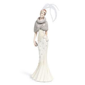 Maisons du monde - statuette lady margareth - Figurine