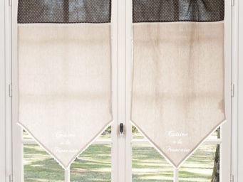 Maisons du monde - rideau court dégustation - Brise Bise