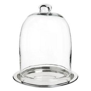 Maisons du monde - cloche en verre madurai - Cloche À Plat