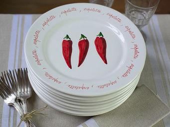 Jean Vier - piment - Assiette De Présentation