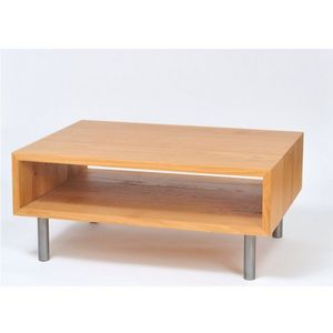ATELIER MOBIBOIS - table basse ws - Table Basse Forme Originale
