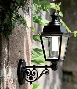 Replicata - außenleucht chenon ii mit wandarm - Lanterne Potence