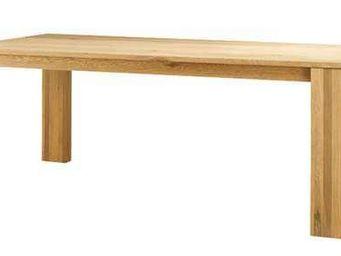 ZAGO - table côme en chêne massif 200x100x76cm - Table De Repas Rectangulaire