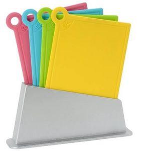La Chaise Longue - bloc 4 planches à découper multi-usages en polypro - Planche À Découper
