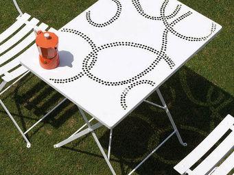 ITALY DREAM DESIGN - roy - Table De Jardin Pliante