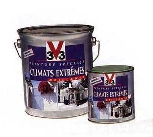V33 - climats extremes - Peinture Bois